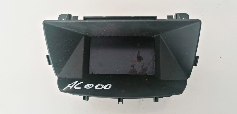 Dashboard Radio Display (Clock,Info Monitor,BORD COMPUTER) Opel Zafira 2007    1.9 13275085