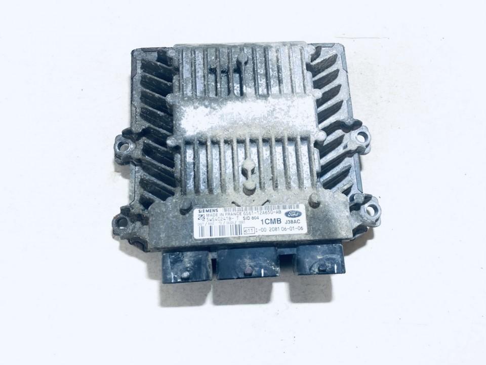 ECU Engine Computer (Engine Control Unit) Ford Fiesta 2006    1.4 6s6112a650ab