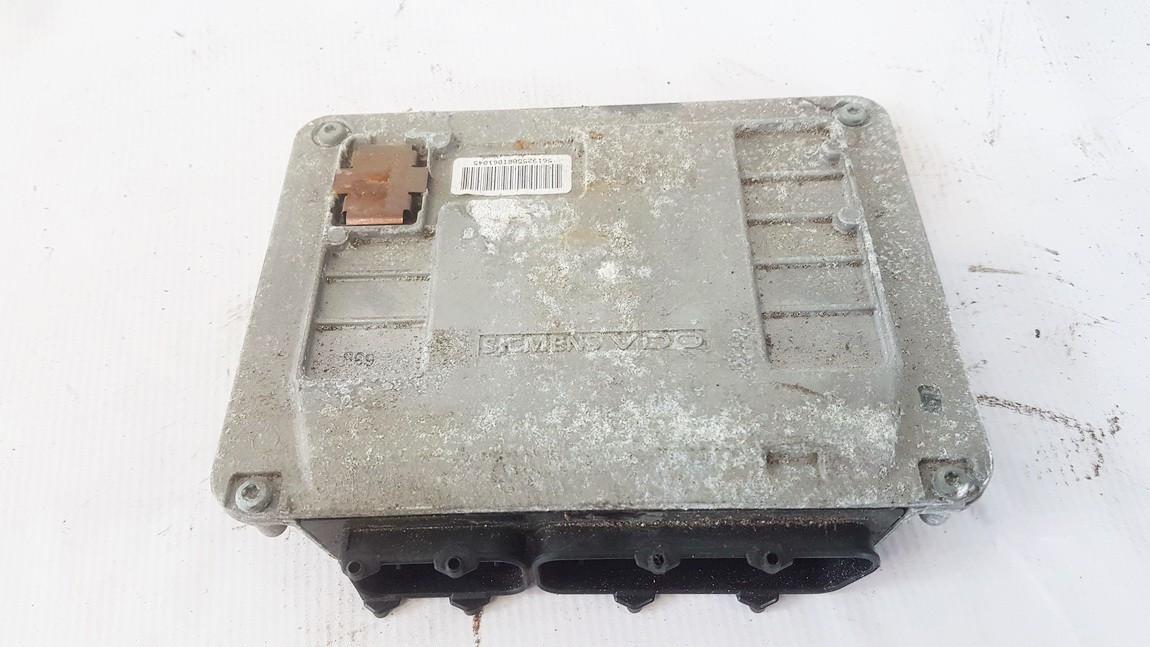 ECU Engine Computer (Engine Control Unit) Volkswagen Fox 2009    1.2 03D906023Q