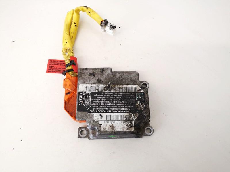 Airbag crash sensors module Alfa-Romeo 156 1999    2.4 60663943
