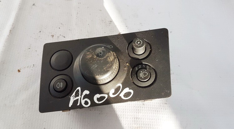 Headlight adjuster switch (Foglight Fog Light Control Switches) Opel Zafira 2007    1.9 13205864