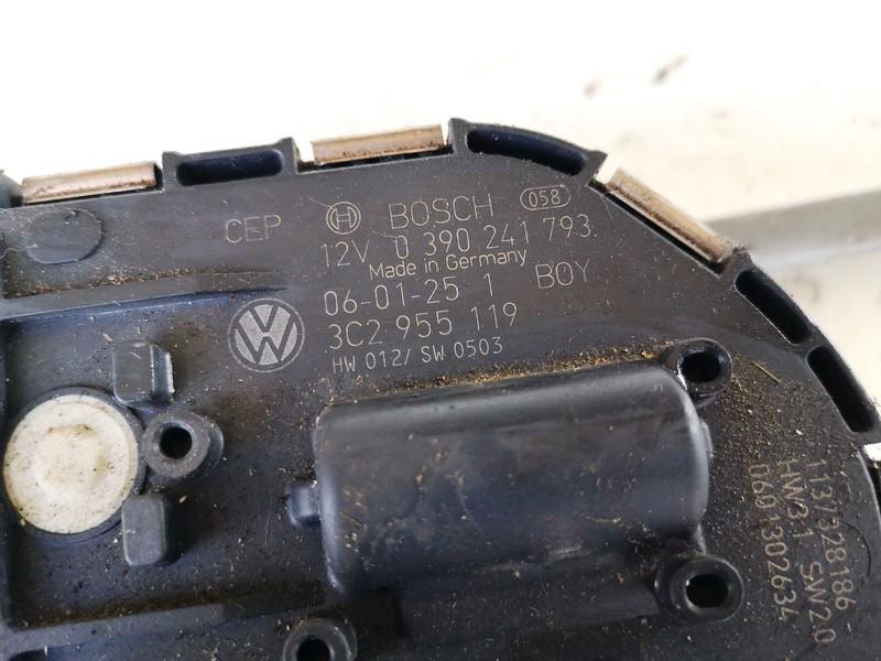 windscreen front wiper motor Volkswagen Passat 2006    2.0 3c2955119