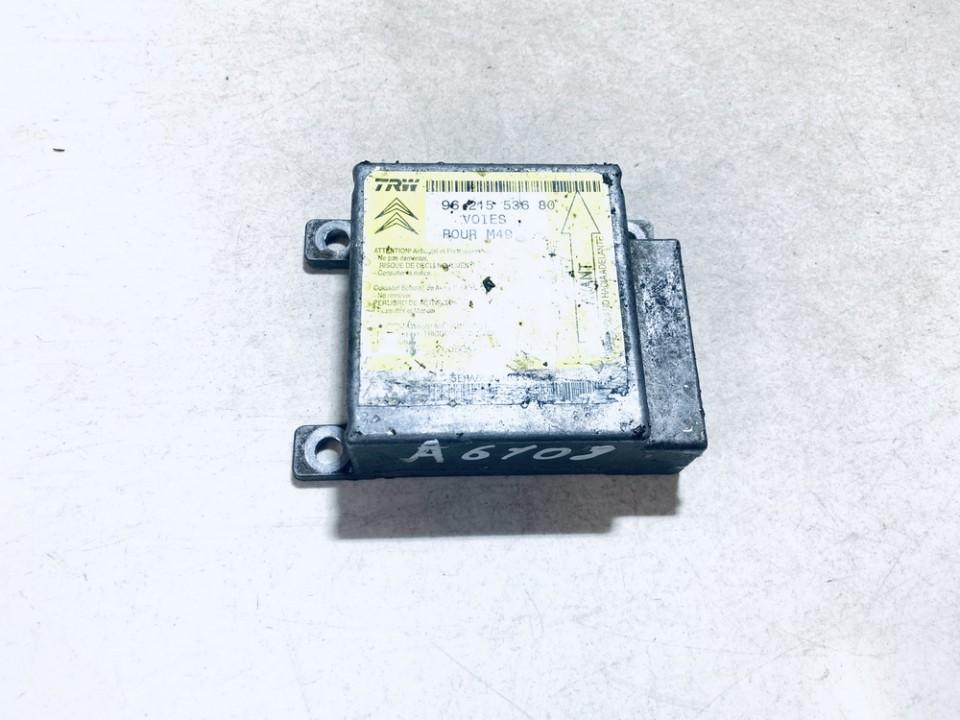 Airbag crash sensors module Toyota Avensis Verso 2001    2.0 9621553680