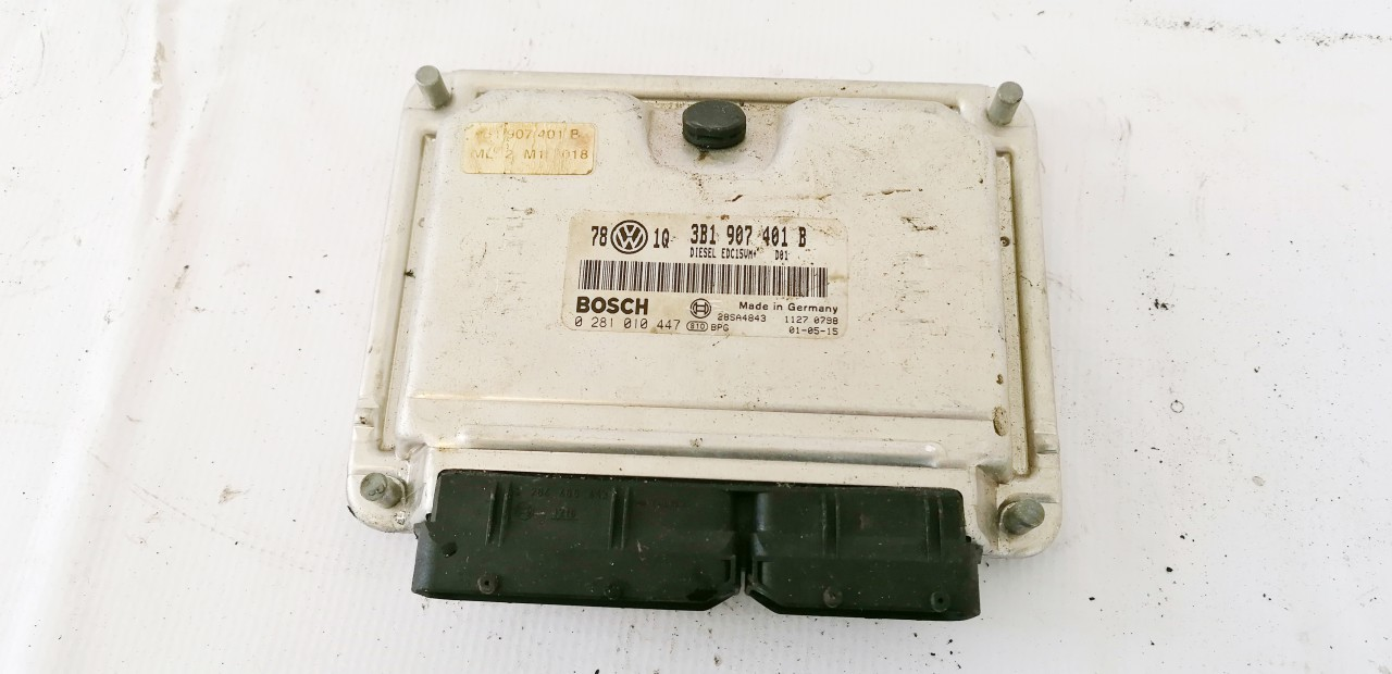 ECU Engine Computer (Engine Control Unit) Volkswagen Passat 2001    2.5 3B1907401B