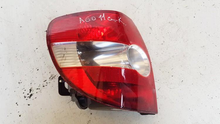 Galinis Zibintas G.K. Volkswagen Fox 2009    1.2 USED
