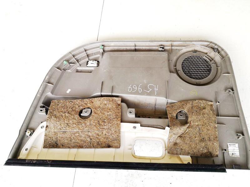 Duru apmusimas (apdaila-absifkes) P.K. Nissan X-Trail 2005    2.2 809018h300