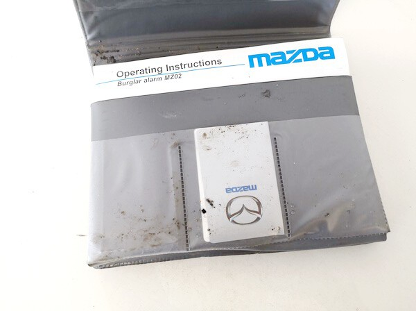 Manual Handbook Wallet (service manual) Mazda 2 2008    1.3 used