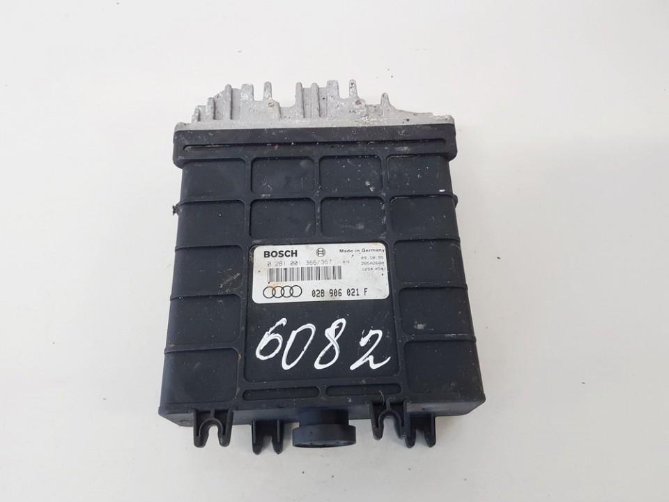 ECU Engine Computer (Engine Control Unit) Audi A4 1996    1.9 0281001366