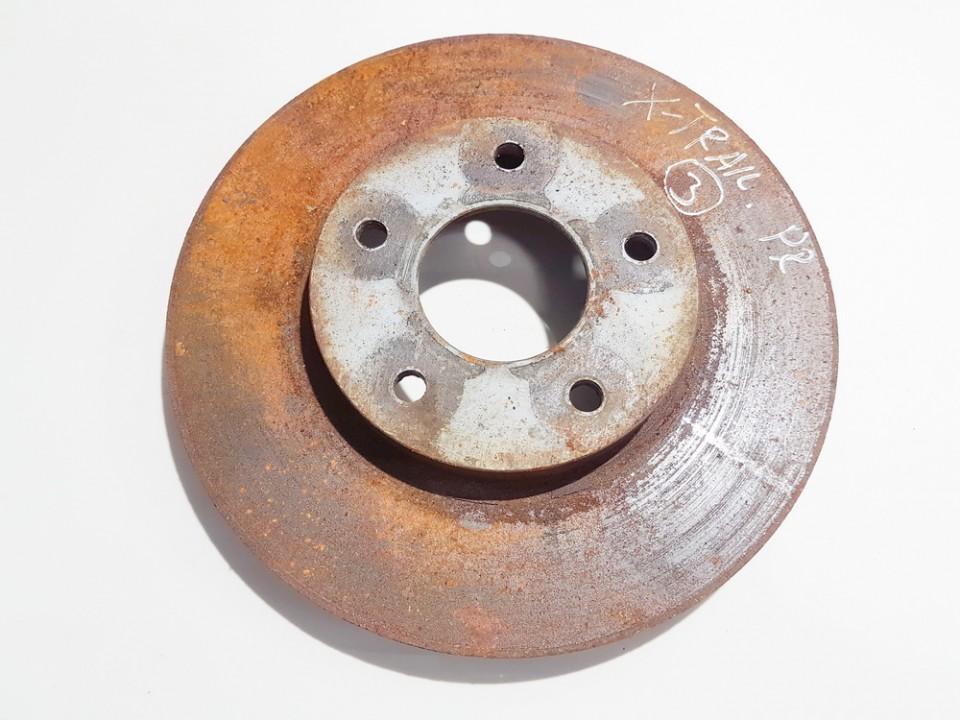 Priekinis stabdziu diskas Nissan X-Trail 2004    2.2 ventiliuojamas