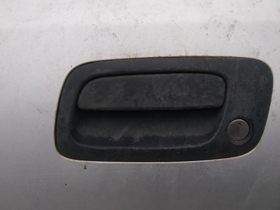 Door Handle Exterior, front left side Opel Astra 2002    2.0 used