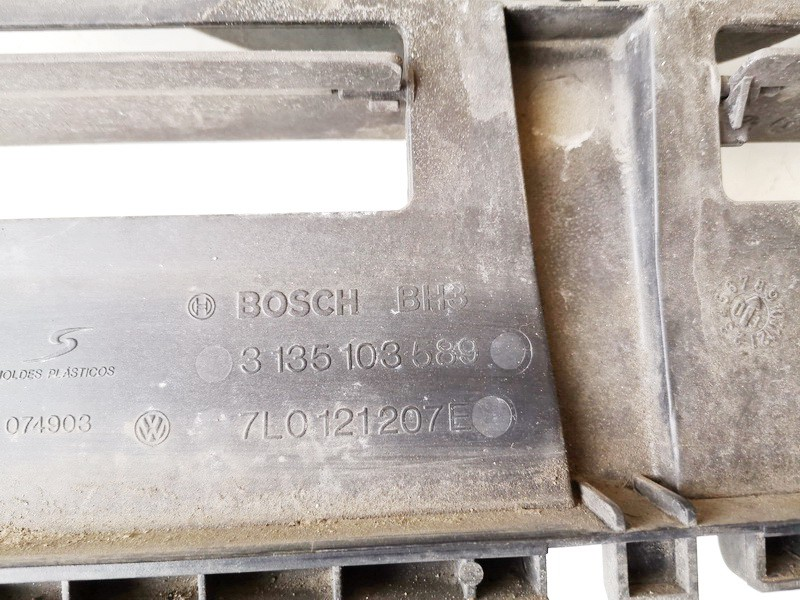 Difuzorius (radiatoriaus ventiliatorius) Porsche Cayenne 2003    4.5 0130706809