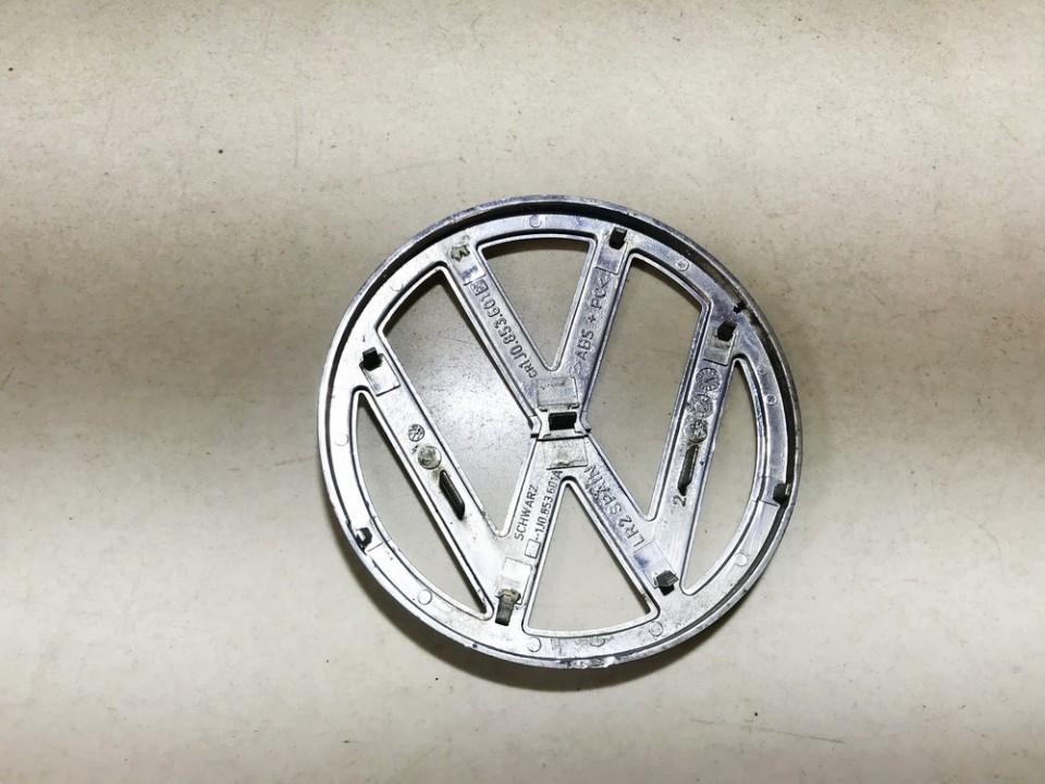 Priekinis zenkliukas (Emblema) Volkswagen Golf 2001    1.9 1j0853601