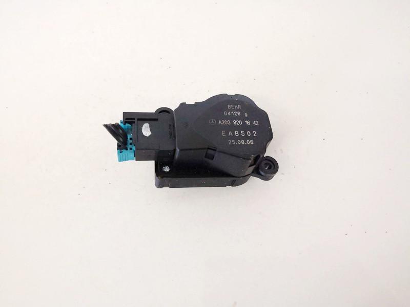 Heater Vent Flap Control Actuator Motor Mercedes-Benz C-CLASS 2007    1.8 a2038201642