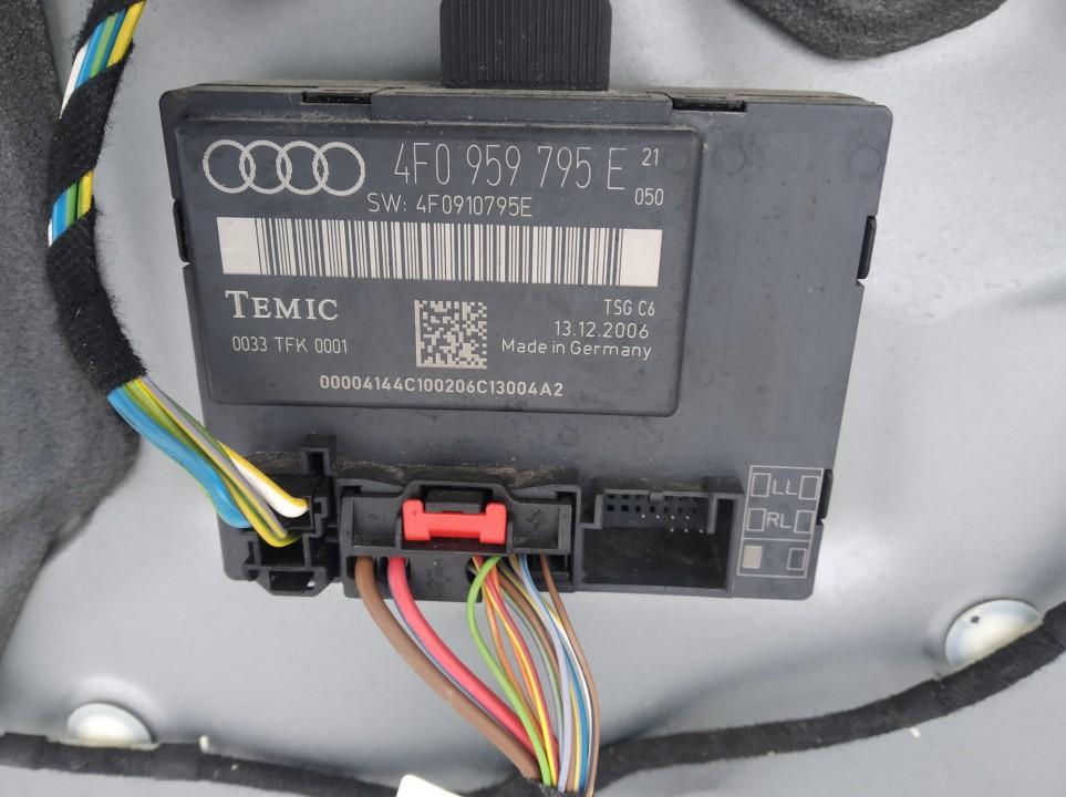 Langu valdymo blokelis Audi A6 2007    2.0 4f0910795e