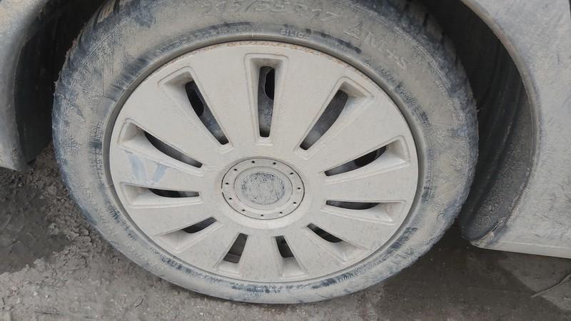 Skardiniu ratu komplektas R17 Peugeot 607 2001    2.2 used