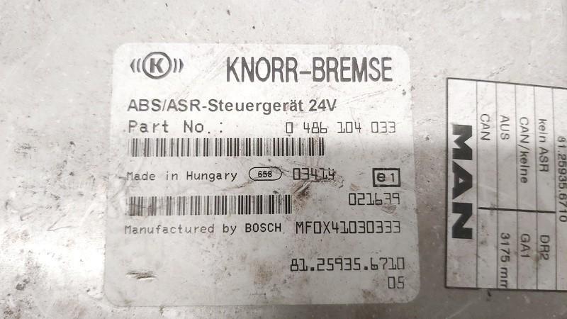 ABS kompiuteris Truck - MAN LE8.180 2003    4.5 0486104033