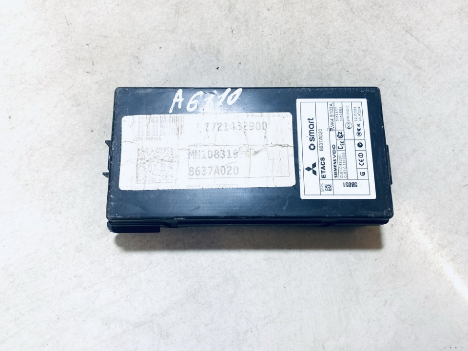 Saugikliu deze Mitsubishi Colt 2005    1.3 8637a020