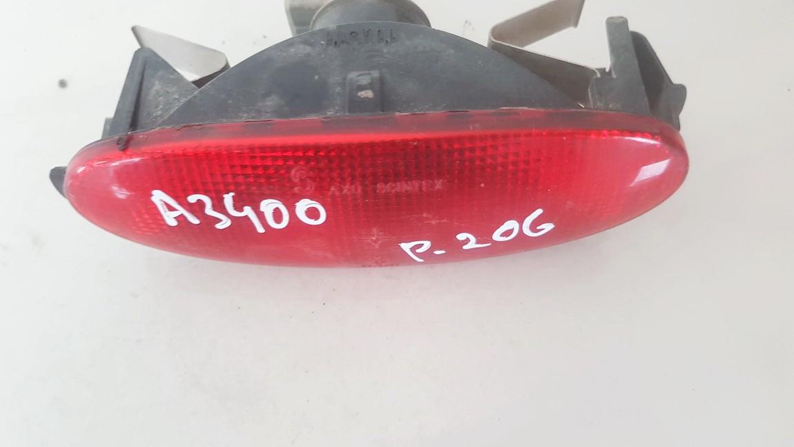 Ruko Zibintas G. galinis vidurinis Peugeot 206 1999    1.4 4510622