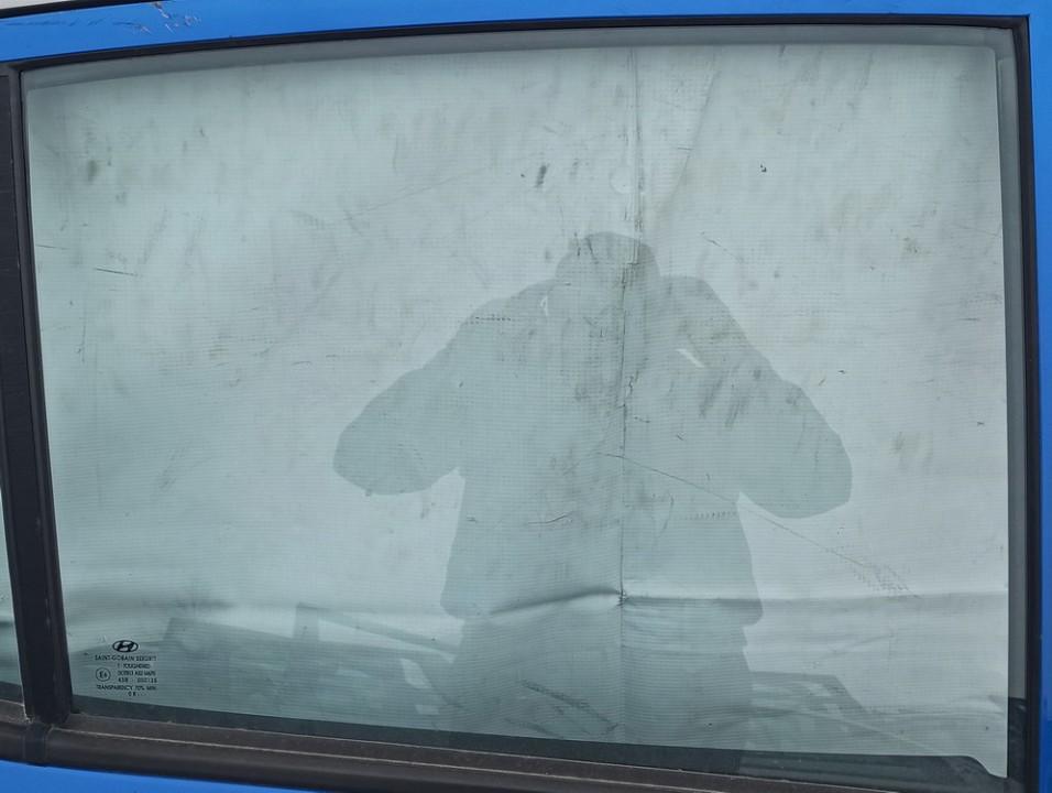 Duru stiklas G.D. Hyundai i10 2008    1.2 Melyna