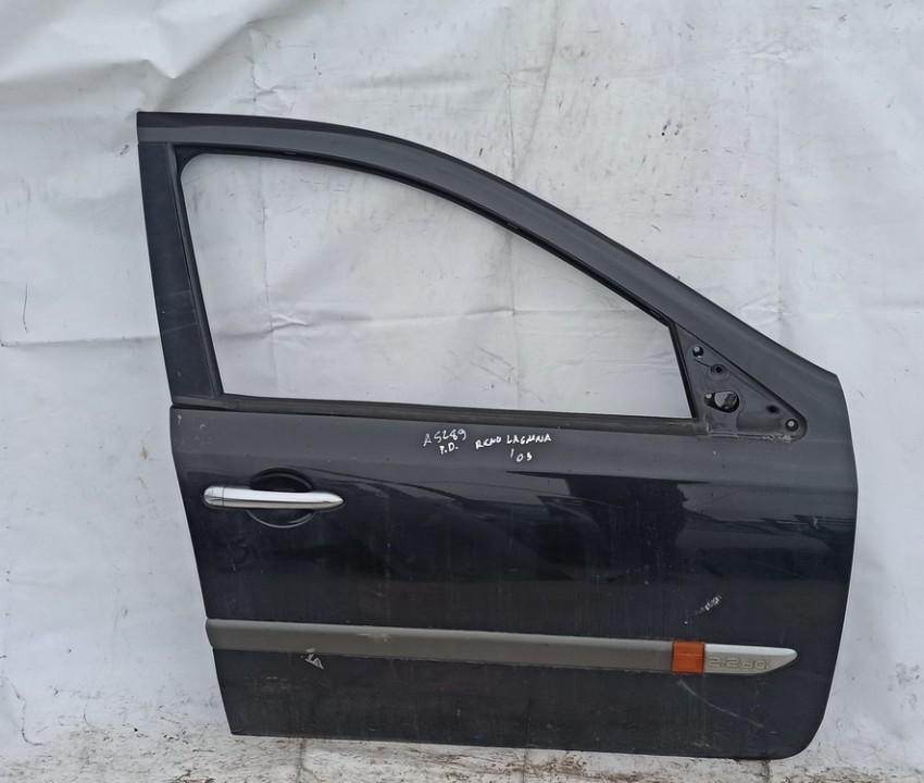 Durys P.D. Renault Laguna 2003    2.2 Juoda