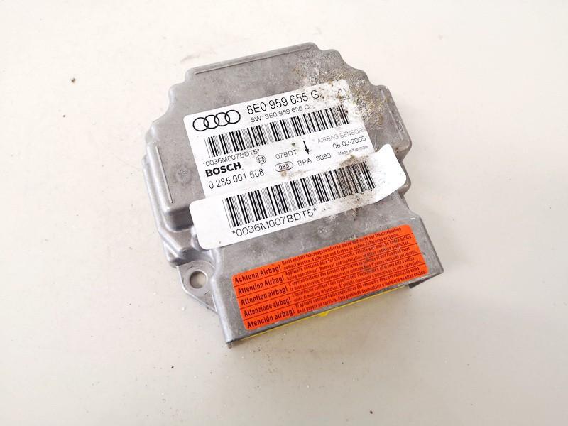 SRS AIRBAG KOMPIUTERIS - ORO PAGALVIU VALDYMO BLOKAS Audi A4 2005    2.0 8e0959655g