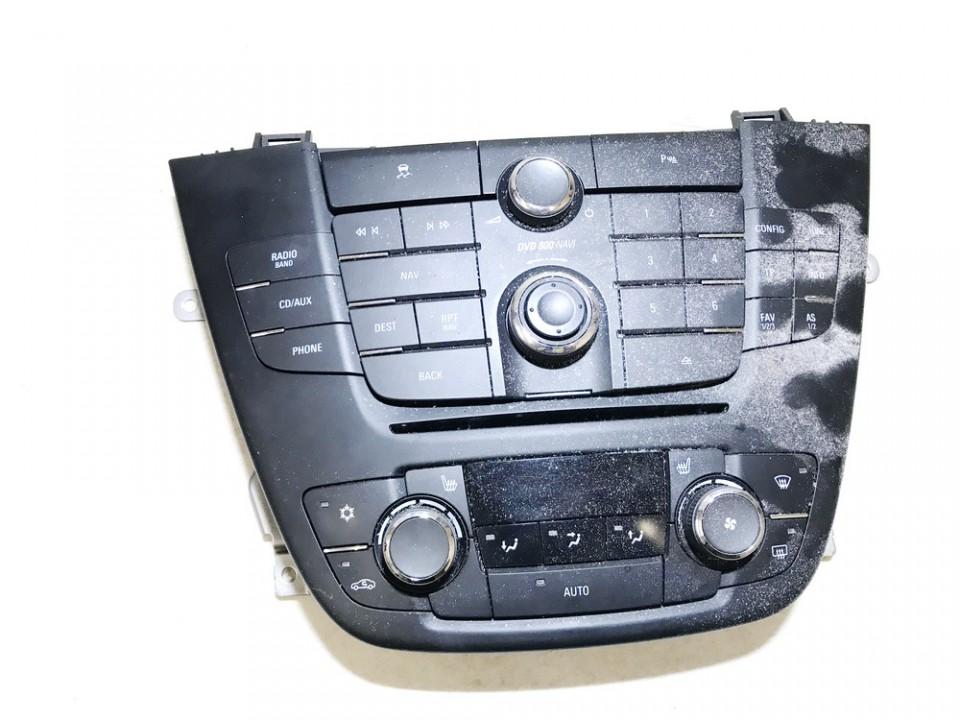Peciuko valdymas ir automagnetola Opel Insignia 2010    2.0 13273256