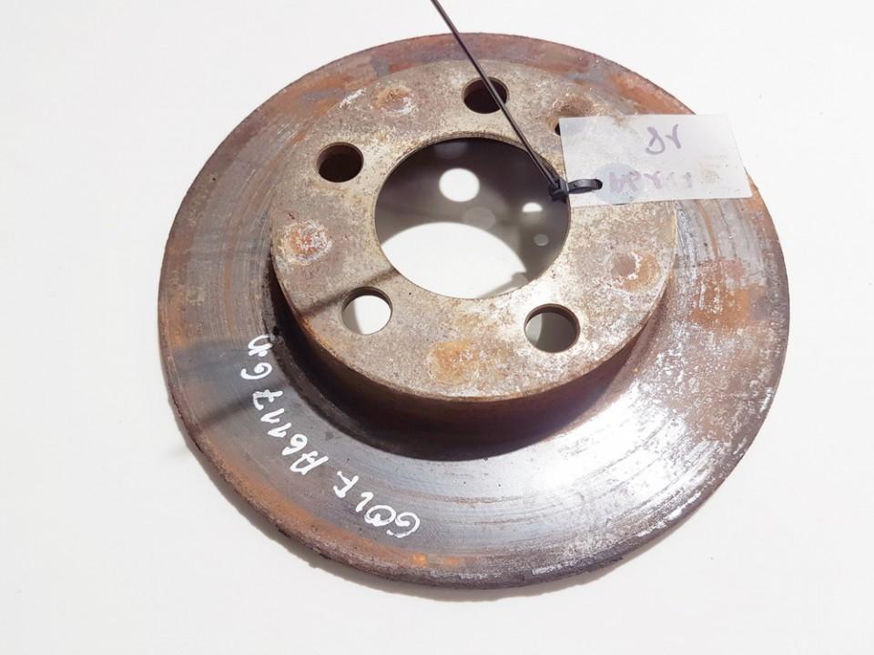 Galinis stabdziu diskas Volkswagen Golf 1999    1.9 neventiuojamas