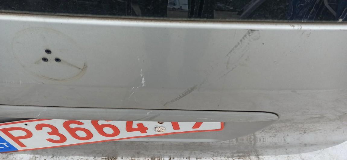Galinis dangtis G (kapotas) Mercedes-Benz ML-CLASS 2001    2.7 Sidabrine