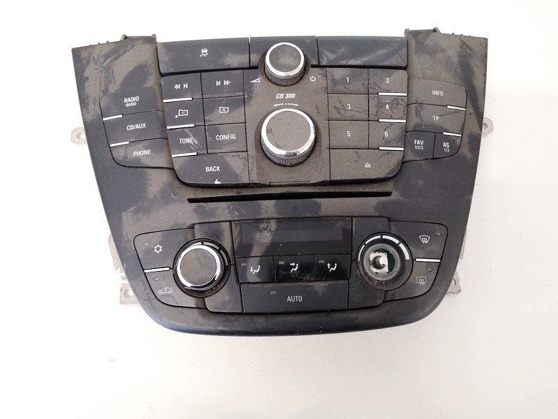 Automagnetolos valdymo konsole Opel Insignia 2009    1.8 13273095