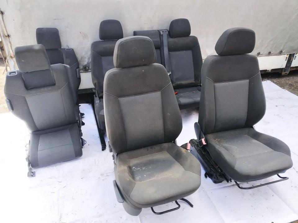 Salono sedyniu komplektas Opel Zafira 2007    1.9 used