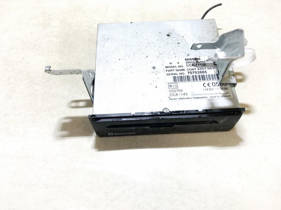CD player NAVIGATION Nissan X-Trail 2007    2.0 25915jg40a