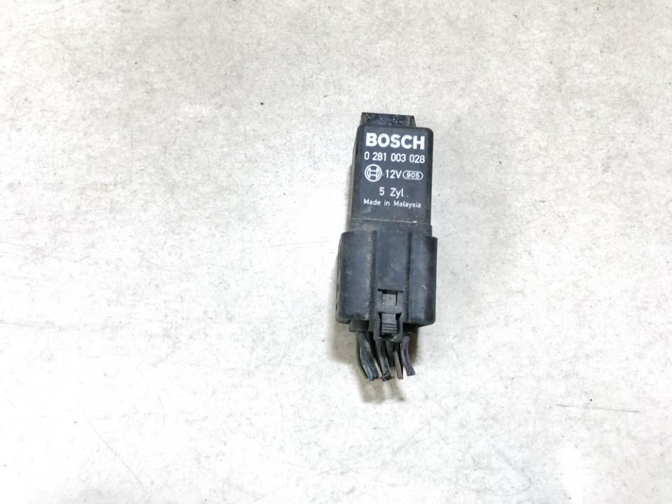 Glow plug relay Volkswagen Crafter 2007    2.5 0281003028