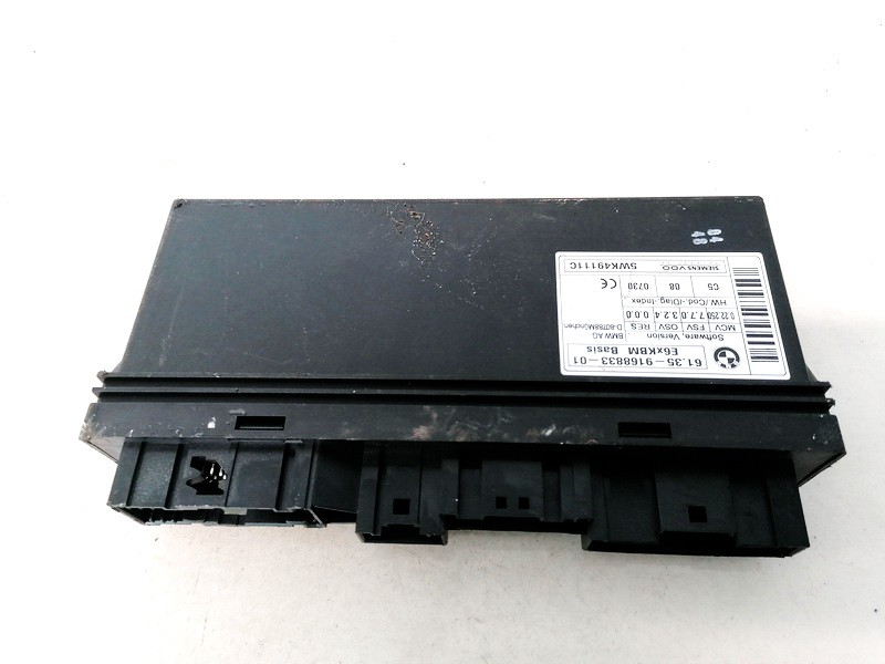 General Module Comfort Relay (Unit) BMW 5-Series 2003    0.0 6135916883301