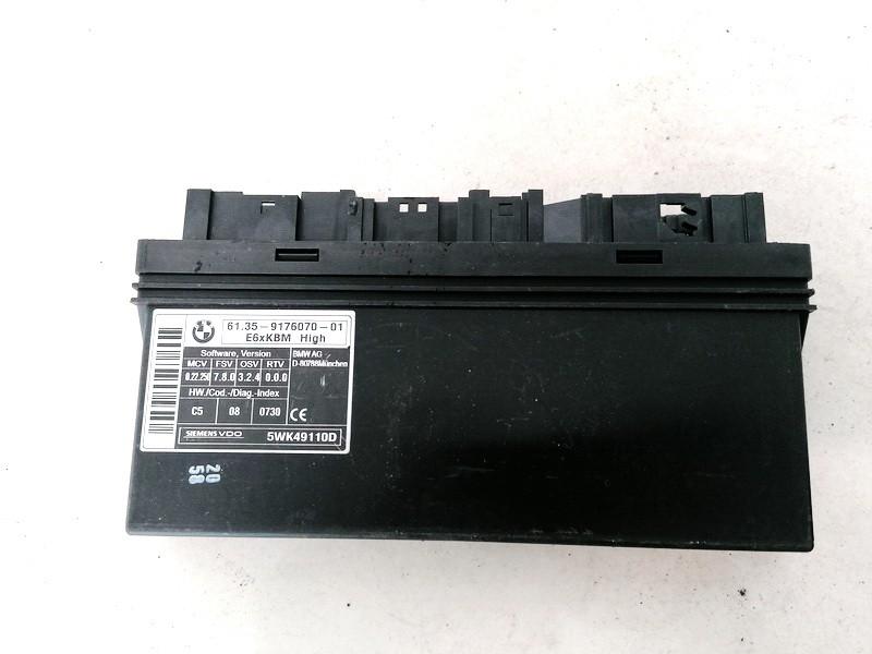 General Module Comfort Relay (Unit) BMW 5-Series 2005    0.0 6135917607001