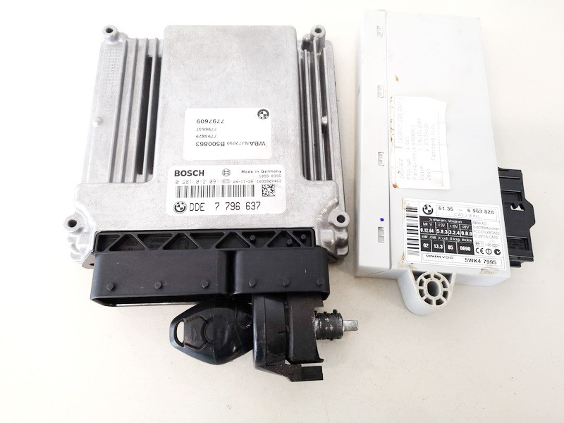 Engine Management ECU Kit BMW 5-Series 2006    2.5 0281012091