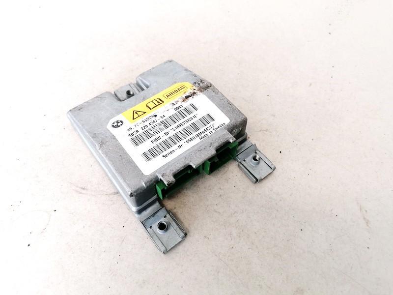 Airbag crash sensors module BMW 5-Series 2005    2.0 65776957502