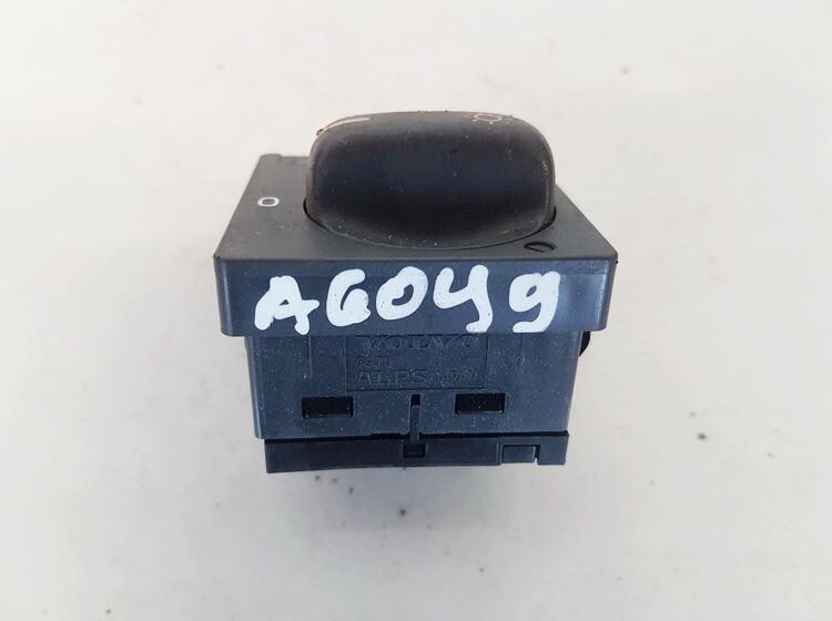 Headlight adjuster switch (Foglight Fog Light Control Switches) Volvo S80 1999    2.4 8601772