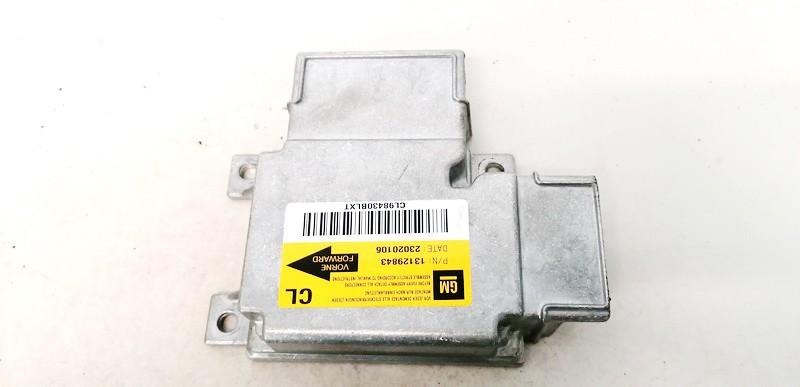 Airbag crash sensors module Opel Vectra 2002    2.2 13129843