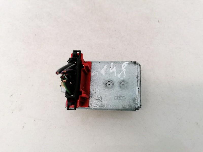 Heater Resistor (Heater Blower Motor Resistor) Volkswagen Passat 2002    1.9 8D0959263