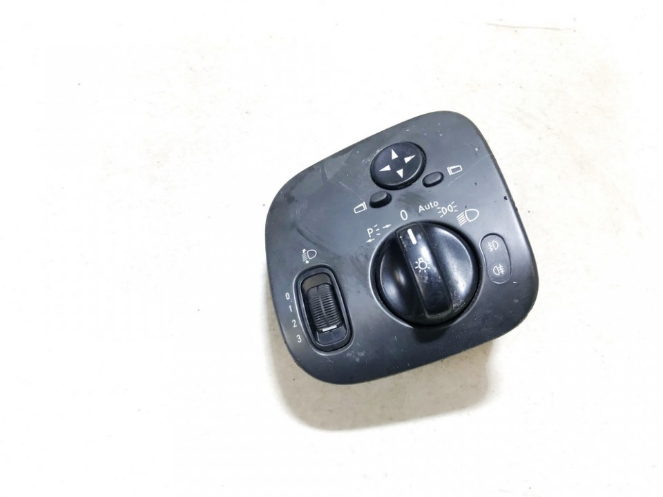 Headlight adjuster switch (Foglight Fog Light Control Switches) Mercedes-Benz C-CLASS 2003    1.8 24406574795