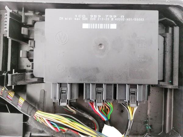 General Module Comfort Relay (Unit) Volkswagen Passat 2002    1.9 1c0959799A