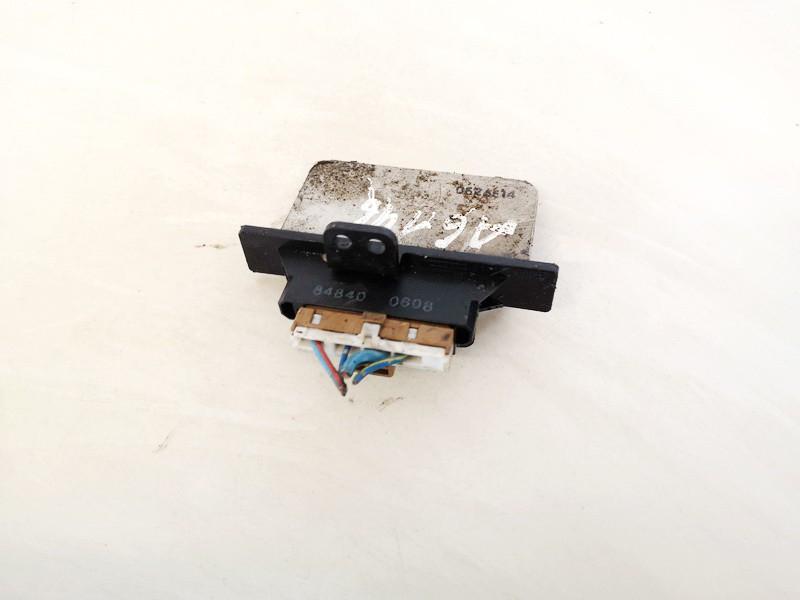 Heater Resistor (Heater Blower Motor Resistor) Nissan Primera 2000    2.0 848400608