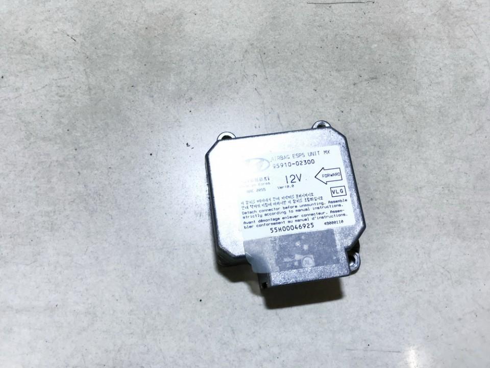 Airbag crash sensors module Hyundai Atos 2002    1.0 9591002300