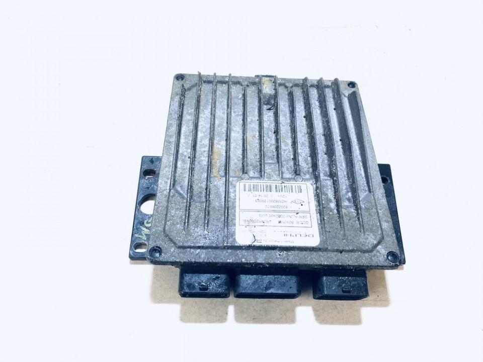 ECU Engine Computer (Engine Control Unit) Renault Clio 2002    1.5 8200206670