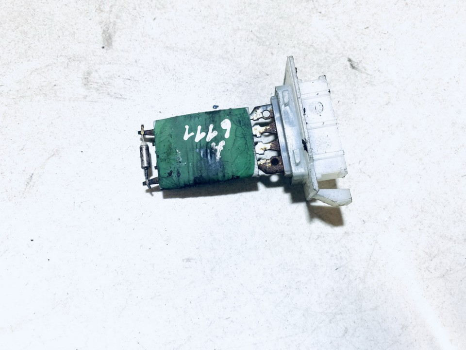 used used Heater Resistor (Heater Blower Motor Resistor) Mercedes-Benz A-CLASS 2005 2.0L 9EUR EIS01079059