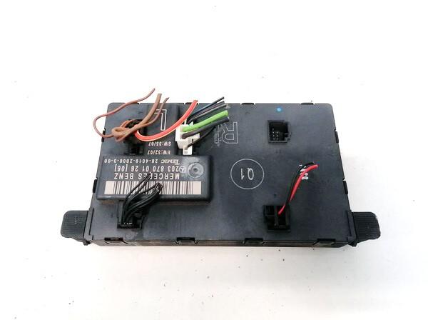 Door control relay (DOOR CONTROL UNIT MODULE ECU ) Mercedes-Benz C-CLASS 2007    1.8 2038700126