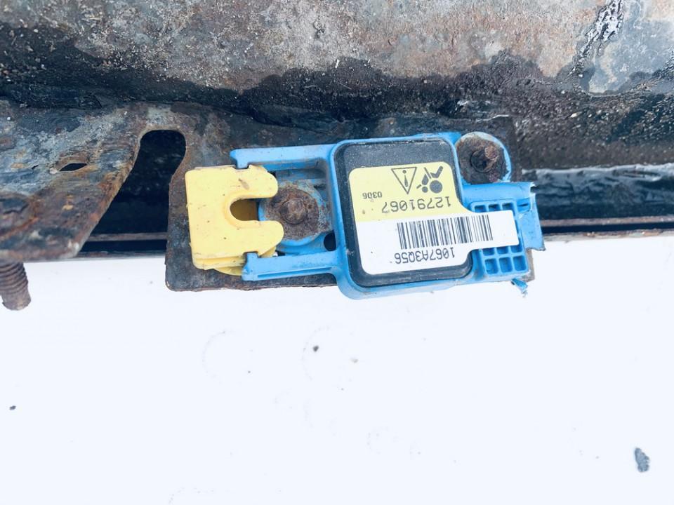 Srs Airbag crash sensor SAAB 9-3 2003    2.2 12791067