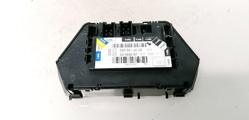 Door control relay (DOOR CONTROL UNIT MODULE ECU ) Mercedes-Benz S-CLASS 2001    4.0 2208215058