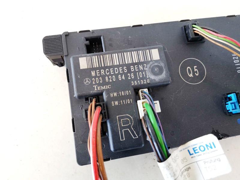 Door control relay (DOOR CONTROL UNIT MODULE ECU ) Mercedes-Benz C-CLASS 2002    2.3 2038206426
