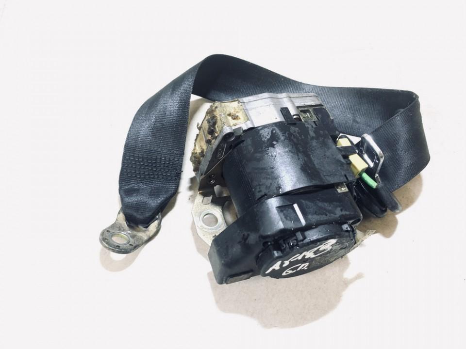 Audi  A3 Seat belt - rear right side